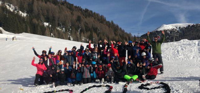 Jahrgangsübergreifende Skifahrt 2019