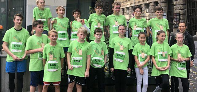 Köln Marathon 2019 – Laufen wie die Großen beim Schülerlauf des Kölnmarathons